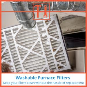 proHVACinfo | Washable Furnace Filters