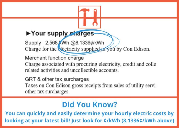 proHVACinfo | DYK Electric Bill